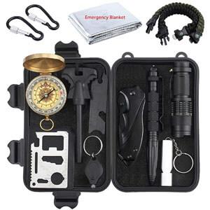 mejores productos mas vendidos amazon regalos accesorios viaje proster kit supervivencia