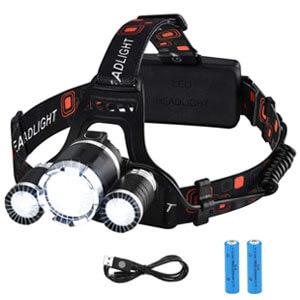 mejores productos mas vendidos amazon regalos accesorios viaje victsing linterna frontal