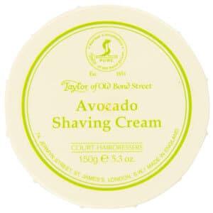 mejor gel espuma crema de afeitar hombre crema afeitar aguacate taylor of old bond street