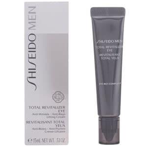 mejores cremas masculinas contorno ojos anti arrugas hombre anti bolsas total revitalizer eye shiseido men