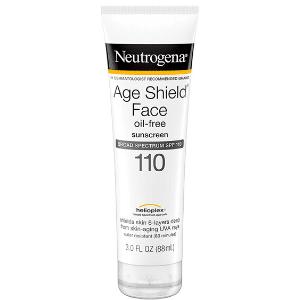 mejor crema solar protector solar cara neutrogena age shield face lotion