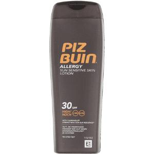 mejor crema solar protector solar cuerpo allergy sun sensitive skin lotion piz buin