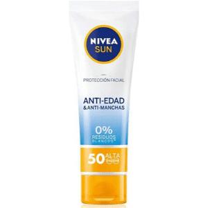 mejor crema solar protector solar facial nivea sun antiedad antimanchas