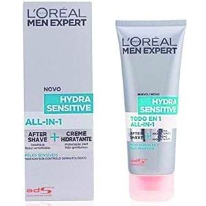 mejor gel espuma crema de afeitar hombre gel afeitar crema despues afeitado aftershave hydrasensitive loreal men expert