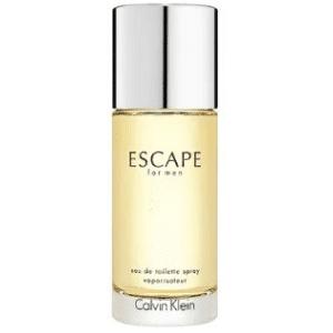 mejores fragancias perfumes hombres baratos marca escape for men calvin klein