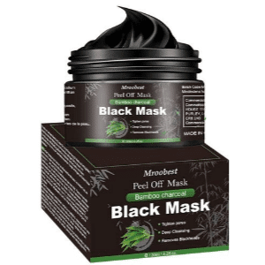mejores mascarillas faciales hombre exfoliante black mask mroobest bamboo