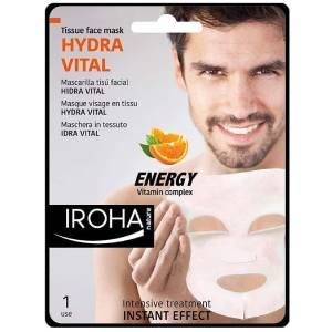 mejores mascarillas faciales hombre hidratante iroha nature
