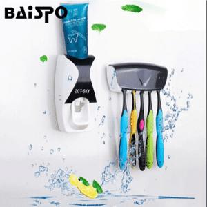 mejores productos mas vendidos aliexpress regalos accesorios baño baispo dispensador pasta de dientes