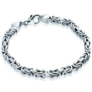 mejores complementos accesorios hombre joyeria joyas pulsera bizantina plata ley matthias wagner