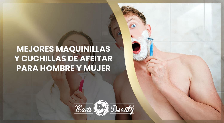 mejores cuchillas de afeitar desechables maquinillas afeitado hombre mujer