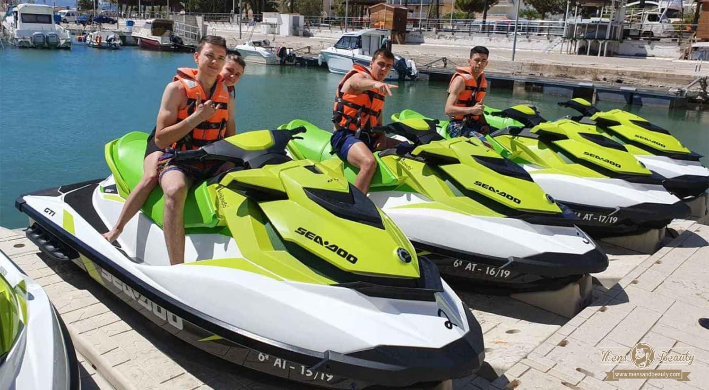 ideas planes despedida de soltero motos de agua