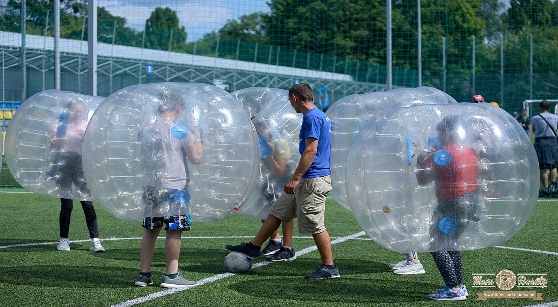 ideas planes despedida de soltero bubble football