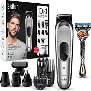 mejores cortapelos profesionales cara barba pelo cuerpo braun braun recortadora barba 10en1