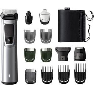 mejores cortapelos profesionales cara barba pelo cuerpo philips mg772015 recortadora 14en1