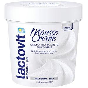 mejores productos belleza hombre cremas hidratantes corporales masculina pieles normales lactovit mousse crème