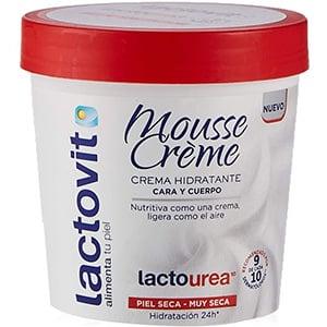 mejores productos belleza hombre cremas hidratantes corporales masculina pieles secas lactovit mousse crème lactourea