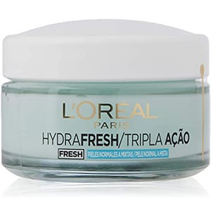 mejores productos belleza hombre cremas hidratantes faciales masculina pieles mixtas loreal paris hydra fresh