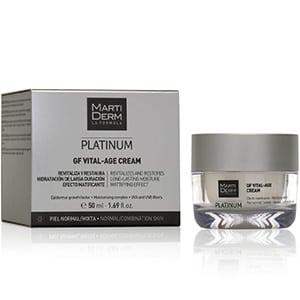 mejores productos belleza hombre cremas hidratantes faciales masculina pieles normales martiderm platinum gf vital age