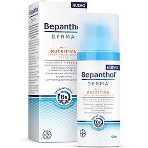 mejores productos belleza hombre cremas hidratantes faciales masculina pieles sensibles bepanthol derma nutritiva