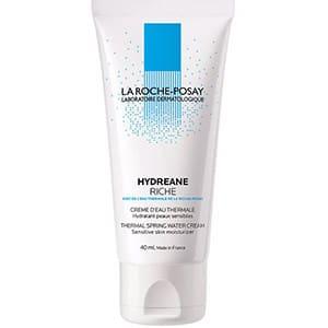 mejores productos belleza hombre cremas hidratantes faciales masculina pieles sensibles la roche posay hydreane riche